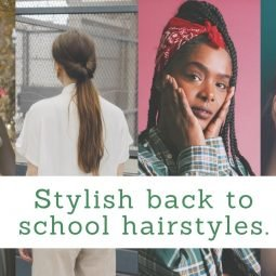 hairstyle for back to school