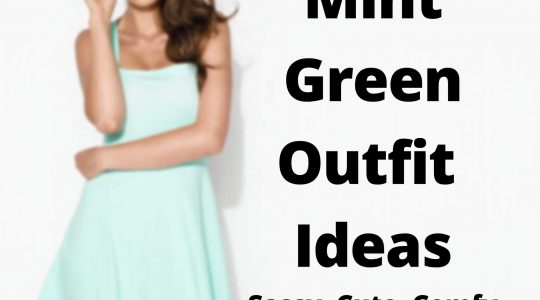 Mint Green Outfit Ideas