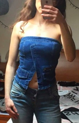 blue jeans outfit winter,