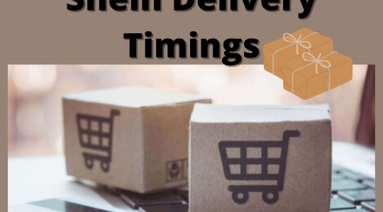 shein delivery timings